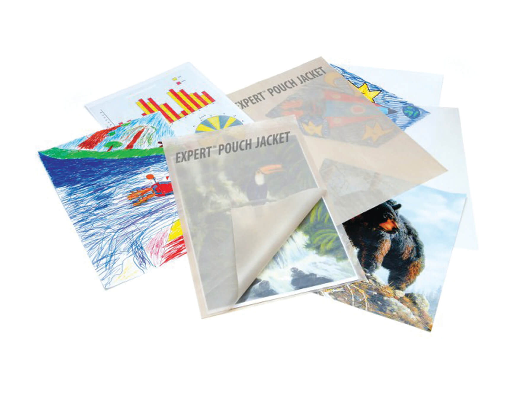 Clear Gloss Laminating Pouches - A4 - pack of 100
