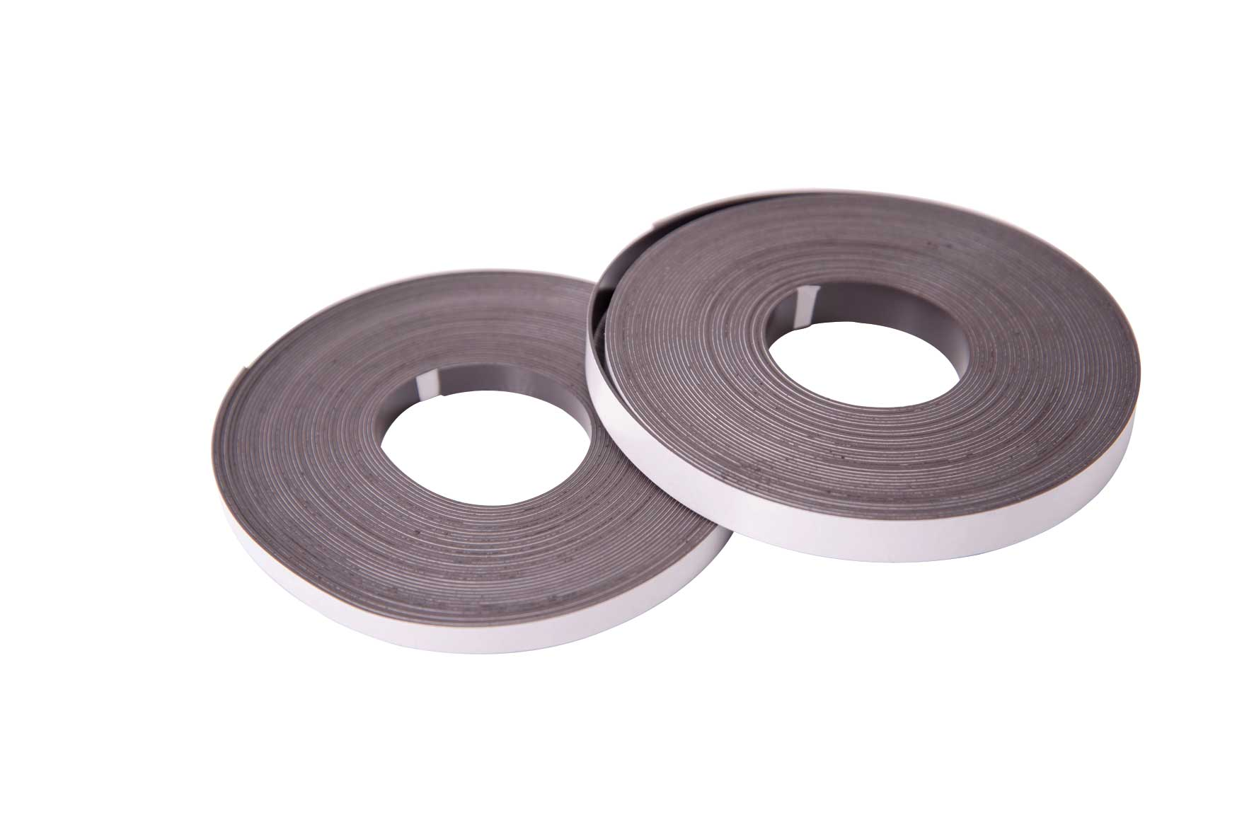 Magnetic Tape Adhesive Backed 0.8x12mm 10m