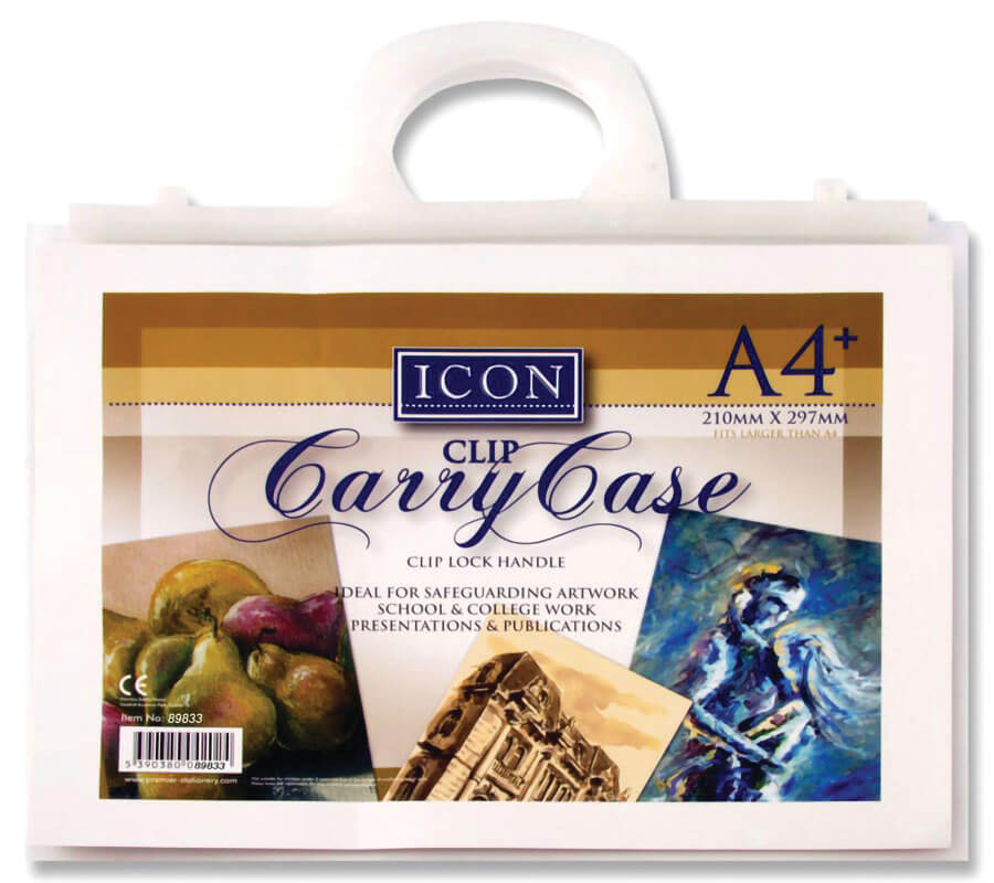 Poly Carry Case with Handle A4+