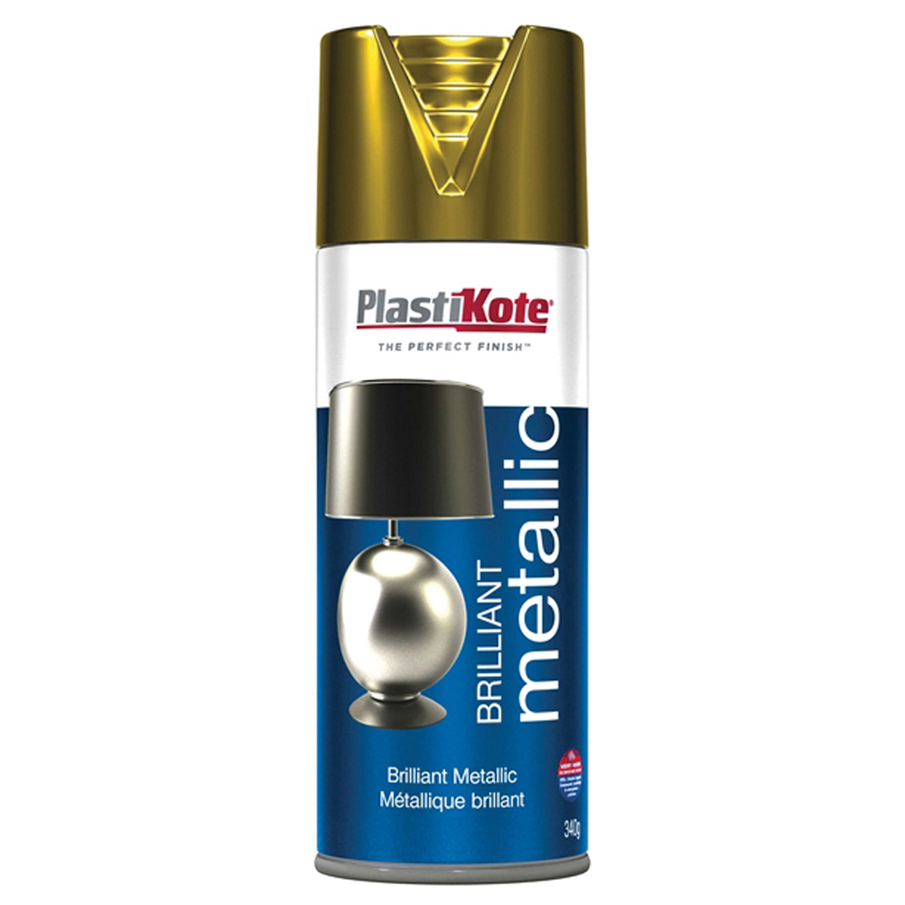 Brilliant Metallic Spray - Gold 400ml