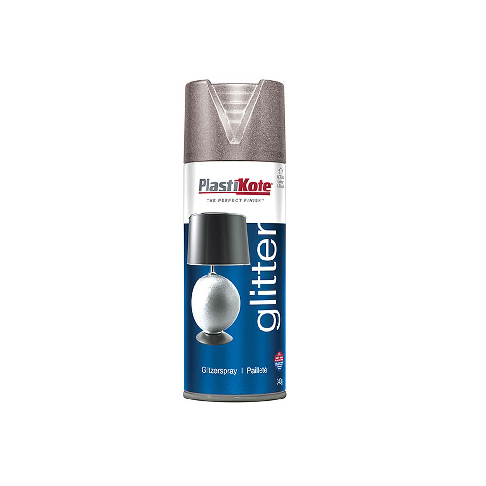 Glitter Effect Spray - Silver 400ml