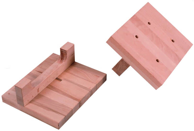 Piggyback Vice Mount - Timber
