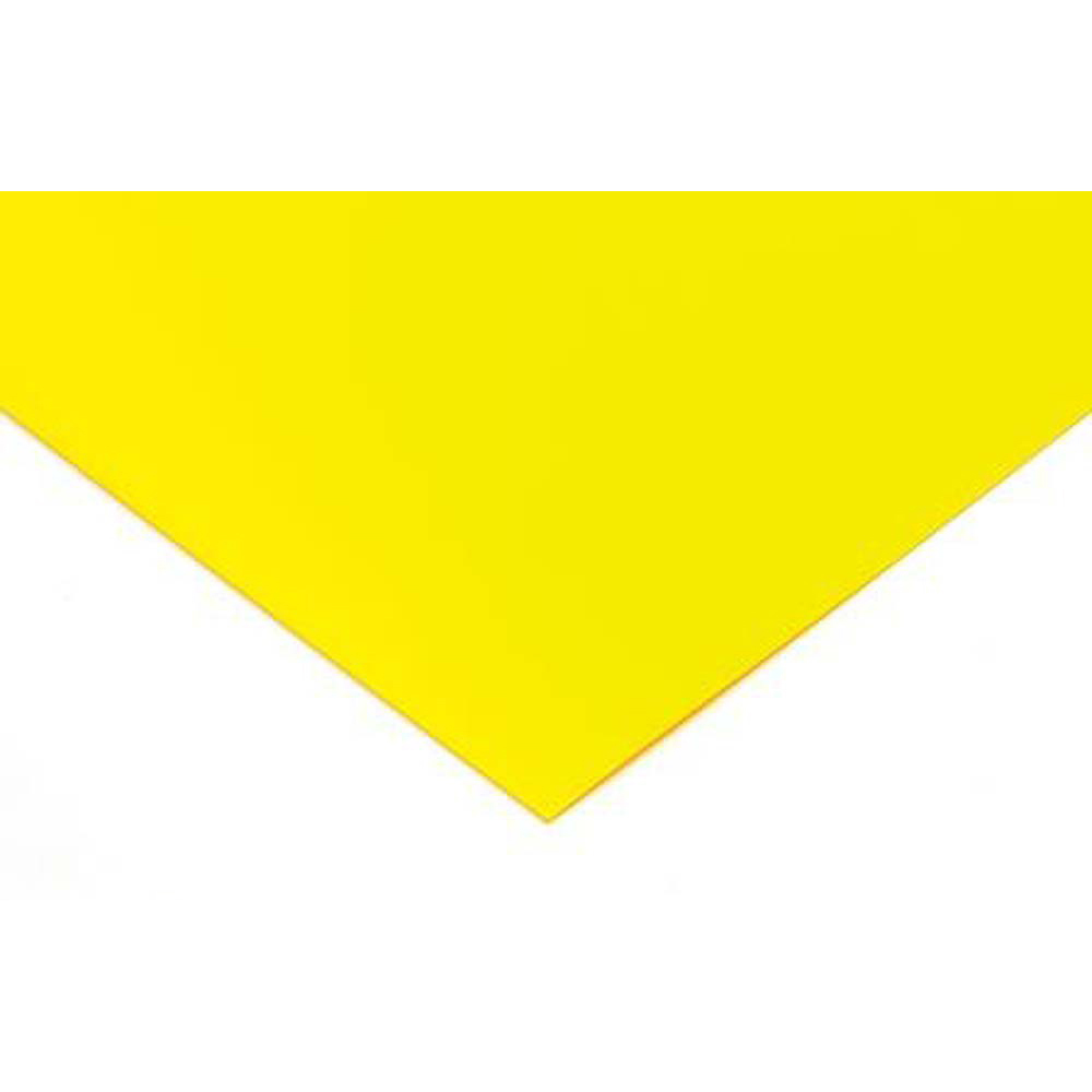 Polypropylene 0.8mm Sheet - 1100 x 650mm - Yellow