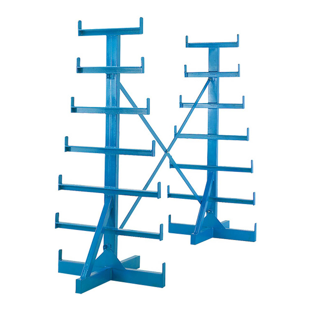 Horizontal Bar Rack - Double Sided Extension Bay