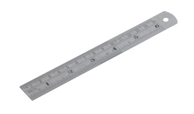Diatec Metric/Imperial Stainless Steel Rule 6