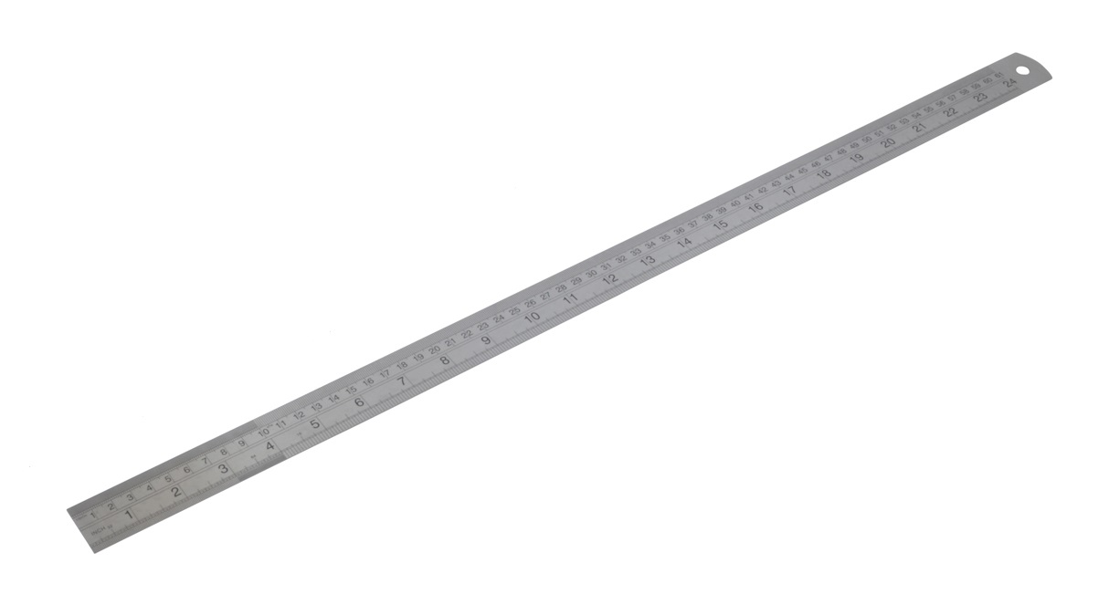 Diatec Metric/Imperial Stainless Steel Rule 24