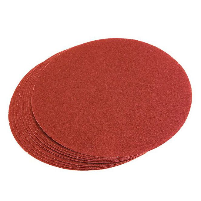 Hanson Large Self Adhesive Discs - 80 Grit (Pack of 10)