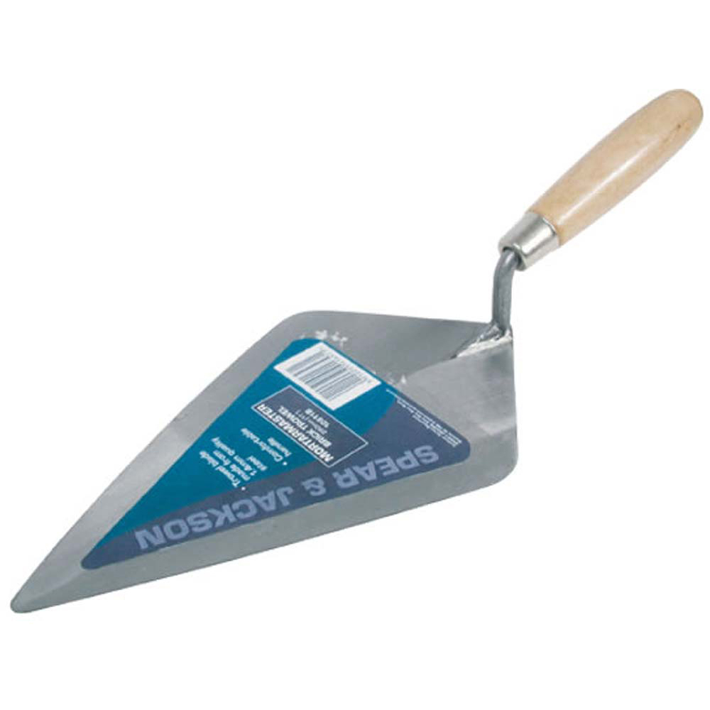 Spear & Jackson Broad Heel Trowel With Wooden Handle - 11