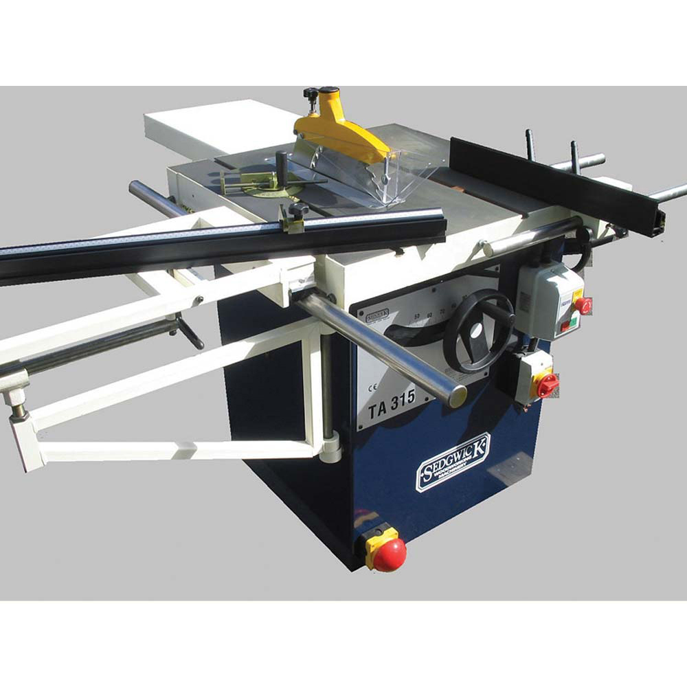 Sedgwick TA315 Tilting Arbor Sawbench - Single Phase