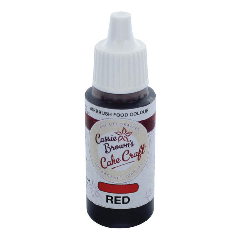 Airbrush Food Colours - Red