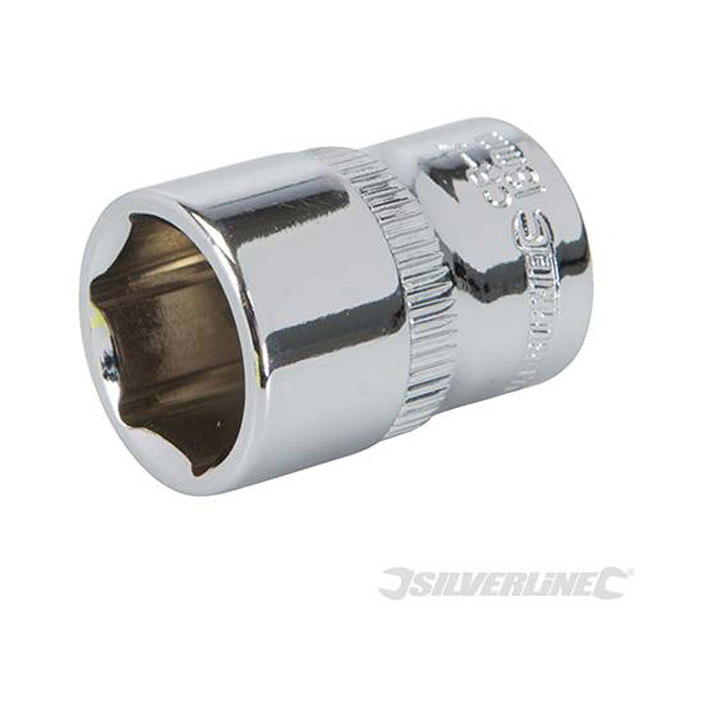 Individual socket - 1/4in drive - 13mm