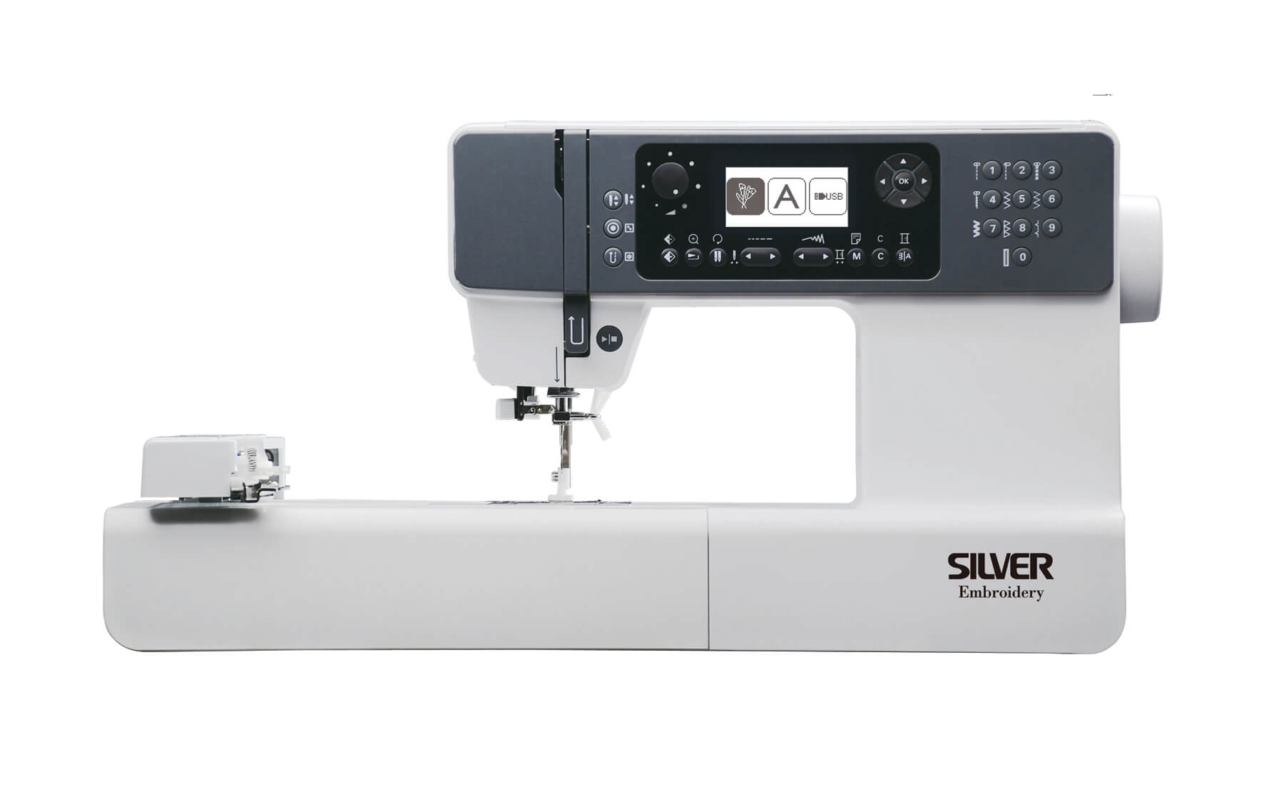 Silver H43BX Embroidery Machine