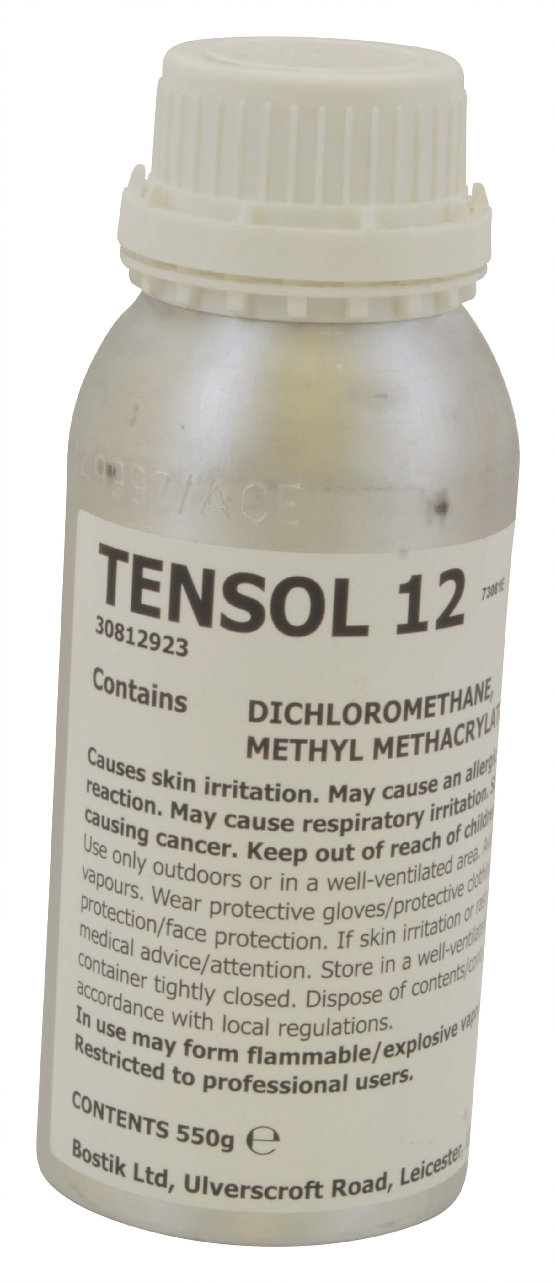 Tensol 12 Acrylic Solvent Cement - 500ml