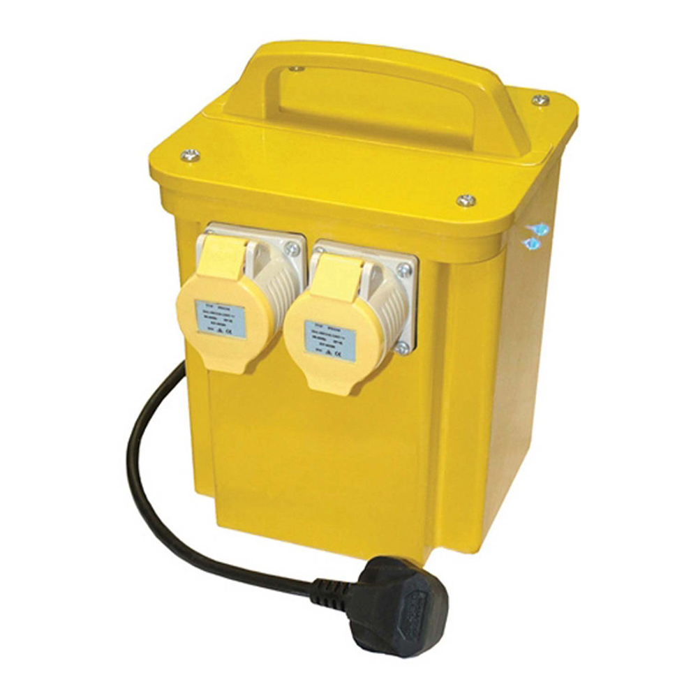 Twin Outlet Transformer 3.3Kva, 110V