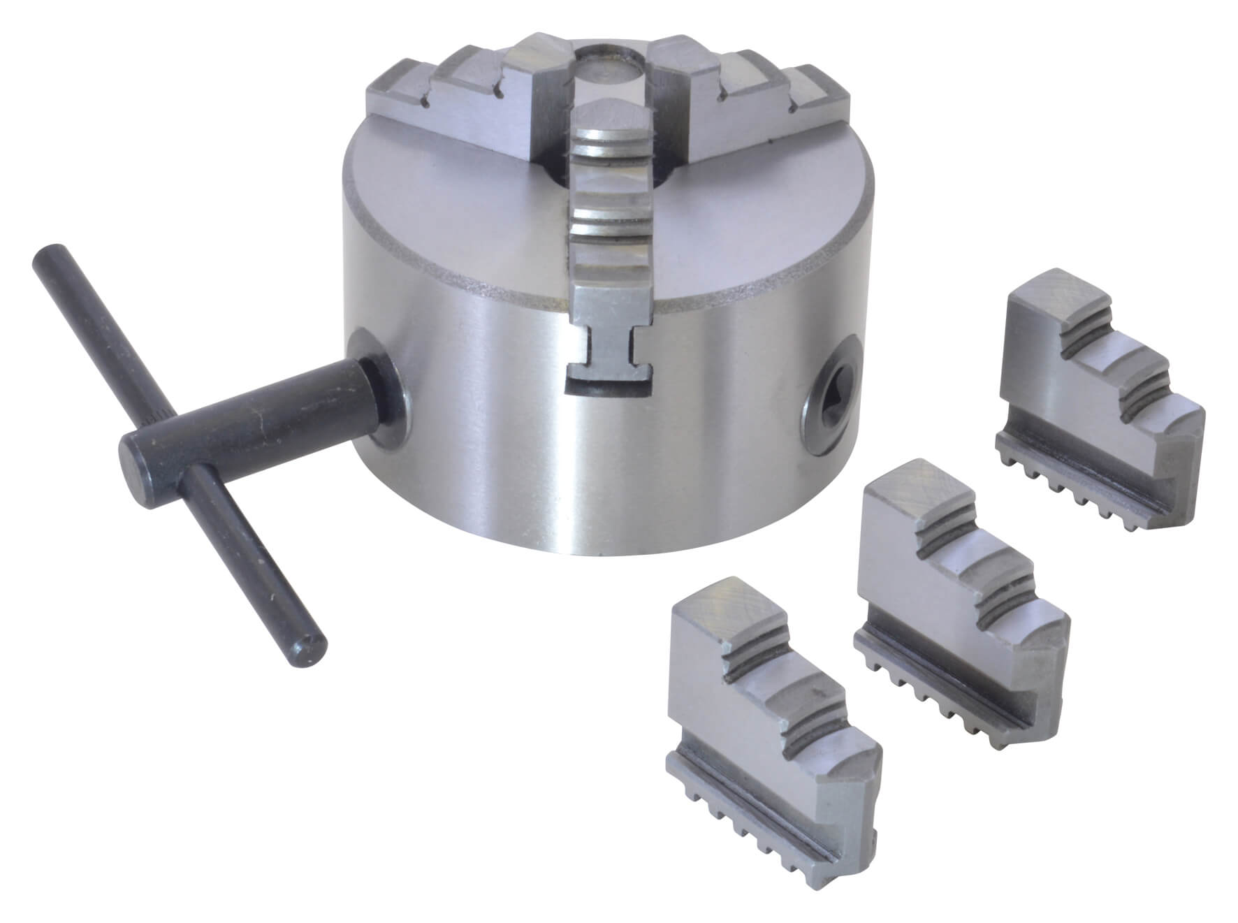 Turntech 3 Jaw Chuck - 100mm