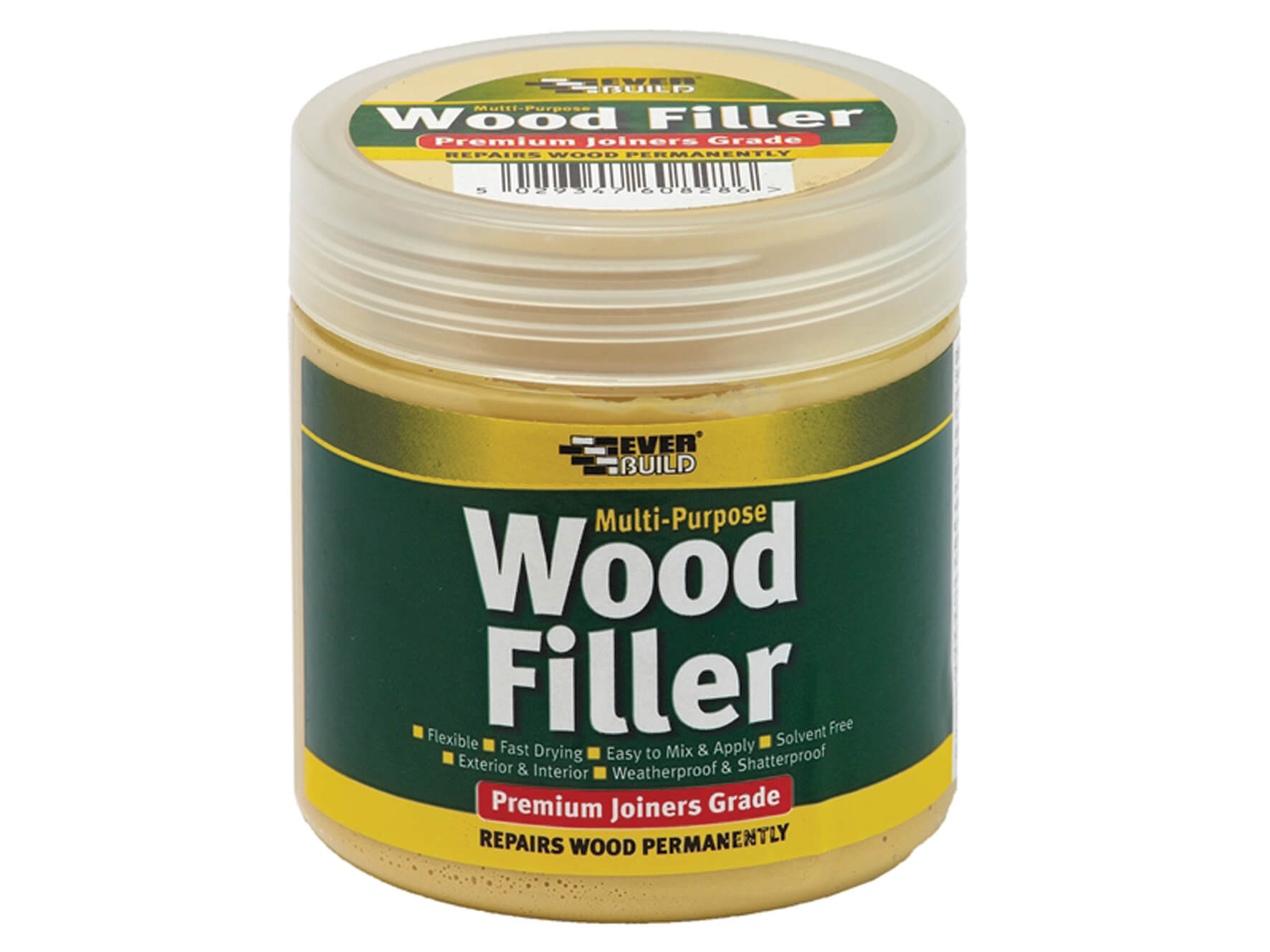 Premium Wood Filler Light Oak - 250ml