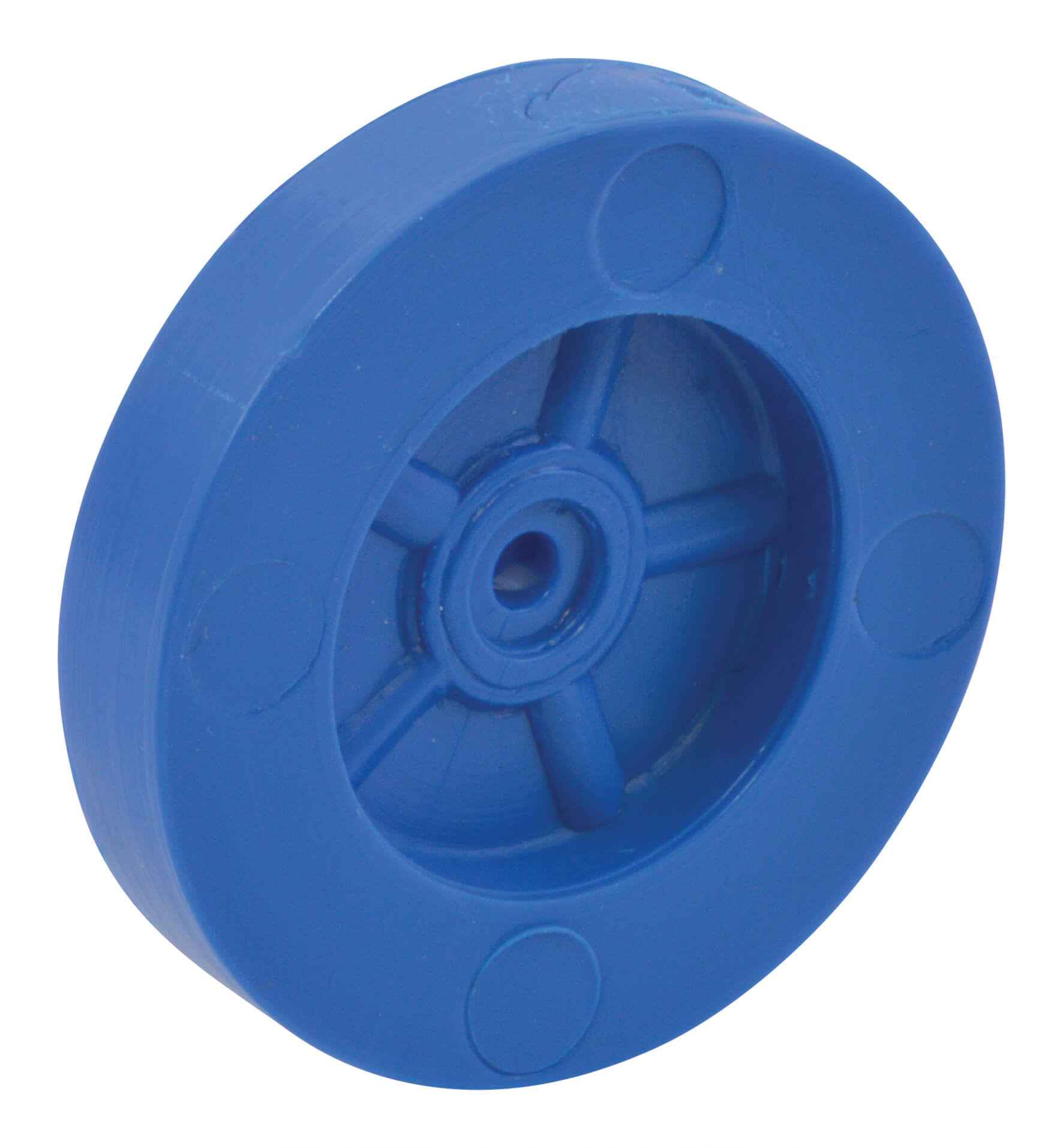 Blue 39mm Polythene Wheels – Pack Of 100