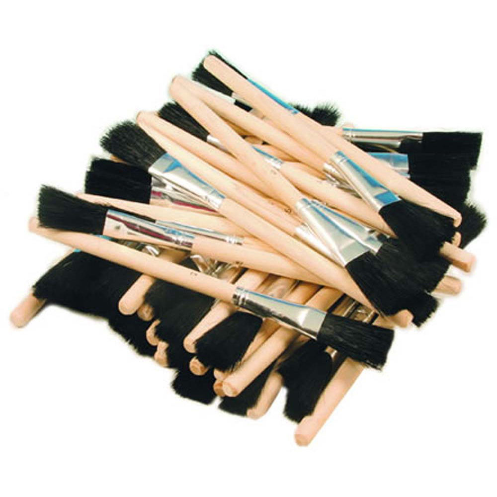 *Disposable Brushes 1/2in - Box of 100