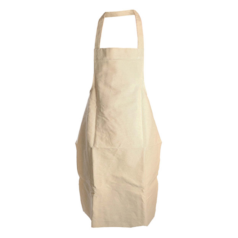 *Cotton Apron, White - Box of 50