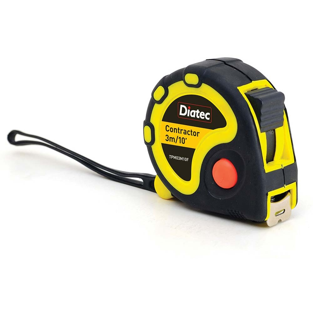 *Diatec Tape Measure 3m/10' - Box of 12
