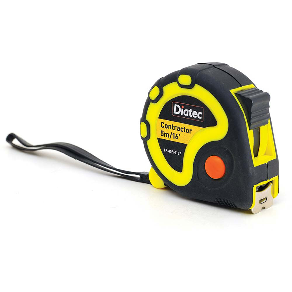 *Diatec Tape Measure 5m/16ft - Box of 12