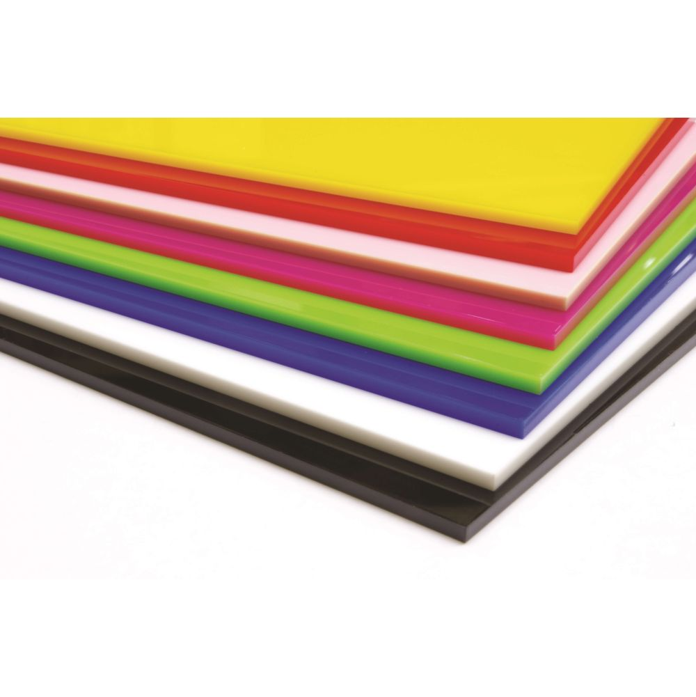 Cast Coloured Acrylic Sheets