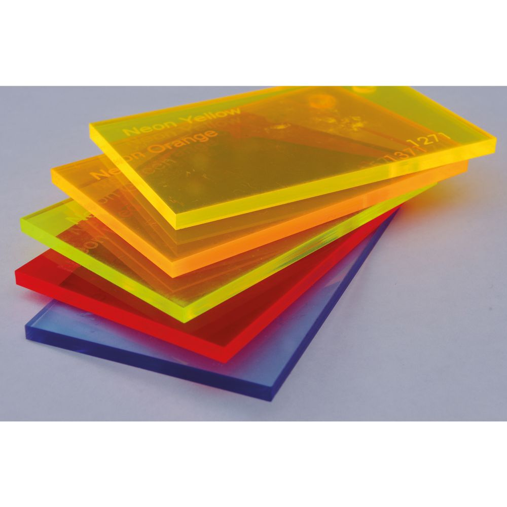 Cast Fluorescent Acrylic Sheets